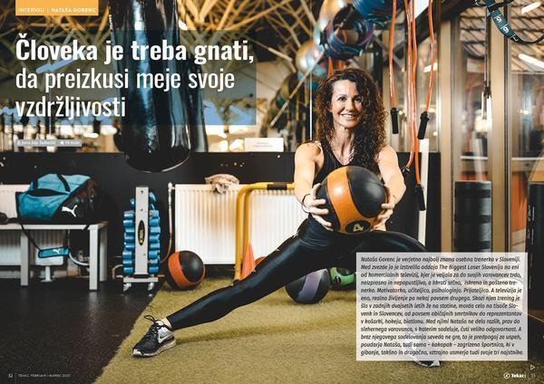 Nataša Gorenc: Človeka je treba gnati, da preizkusi meje svoje vzdržljivosti