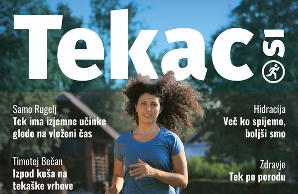 Tek po mestnem igrišču - revija Tekac.si 08-09