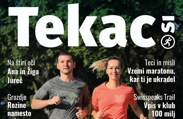 Revija Tekac.si 10/11: Poiščimo smisel v teku ... še enkrat