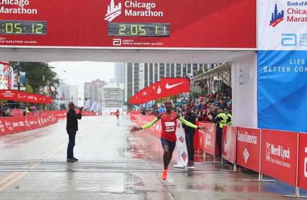 Zmagovalec 41. Chikaškega maratona presenetil in postavil nov evropski rekord