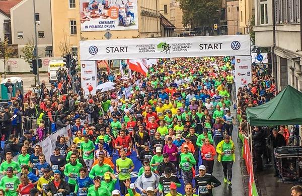 Volkswagen 23. Ljubljanski maraton v znamenju rekordov!