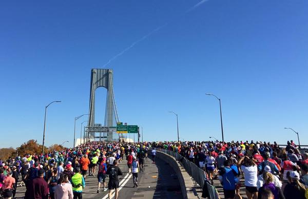 New York City Marathon z rekordno udeležbo tekačev z vsega sveta