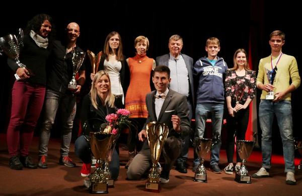Timotej Bečan in Barbara Trunkelj sta naj gorska tekača leta 2018