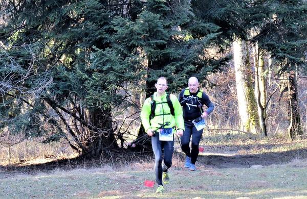 Na Novoletnem Slotrail teku je teklo 70 tekačev