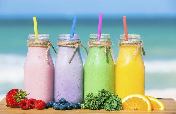 5 receptov za zdrav smoothie napitek