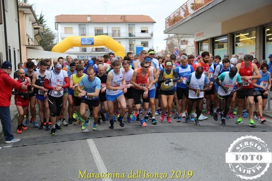 Drugi Soški polmaraton  (Maratonina dell'Isonzo) privabil veliko Slovencev