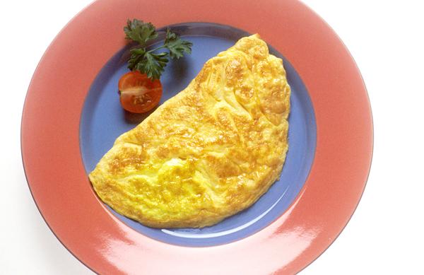 Ideja za obrok po vadbi: Omleta, bogata z beljakovinami
