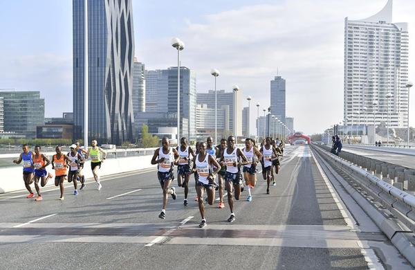 36. Dunajski maraton v znamenju rekordov