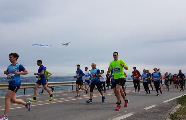 6. Istrski maraton z veliko udeležbo in v znamenju dobre volje