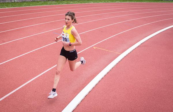 Le šest dni po pretečenem maratonu osvojila še naslov državne prvakinje na 10.000 metrov