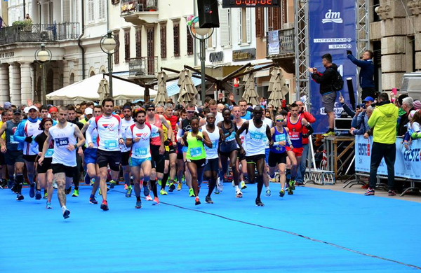 Matic Modic zmagal na maratonu v Rijeki