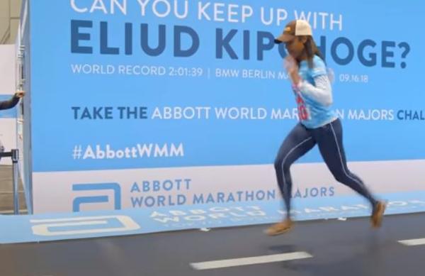 VIDEO: Tako je videti neverjeten tempo Eliuda Kipchogea