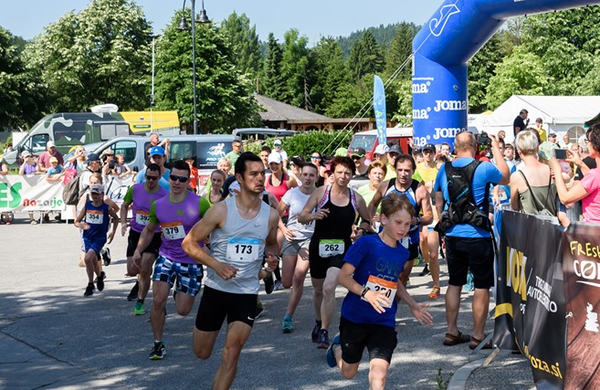 Na Maratonu Savinja visoke temperature in zadovoljni tekači