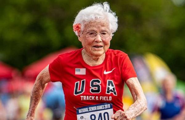 Nasvet 103-letne tekačice za dolgo in srečno življenje