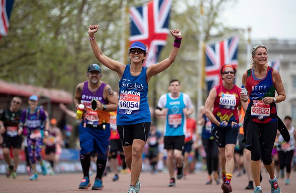 Na Londonskem maratonu naredili napako