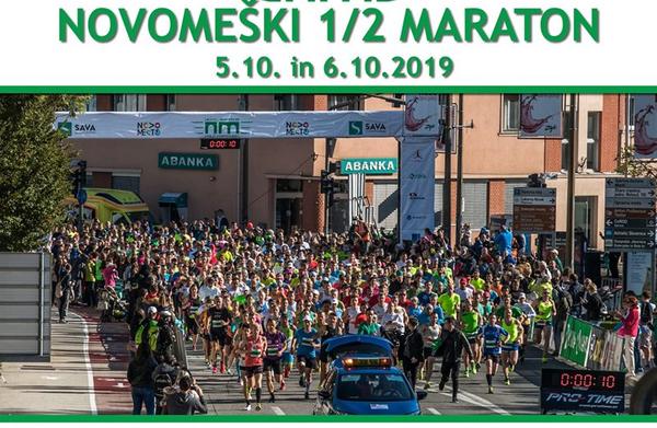 Novomeški 1/2 maraton: Zagotovite si cenejšo prijavo s plačili do ponedeljka 15.7.2019!