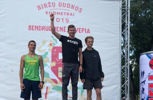 Primož Kobe zmagal na polmaratonu v Litvi