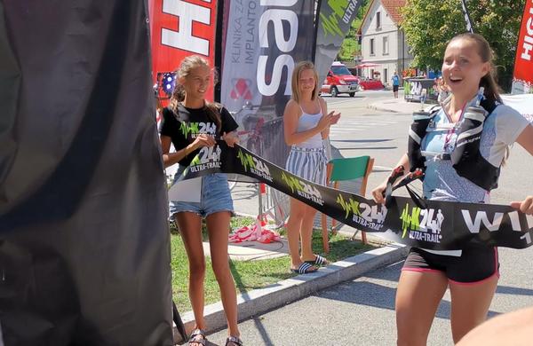 Na 100-kilometrski progi na K24 Ultra Trail Race ugnala vso konkurenco