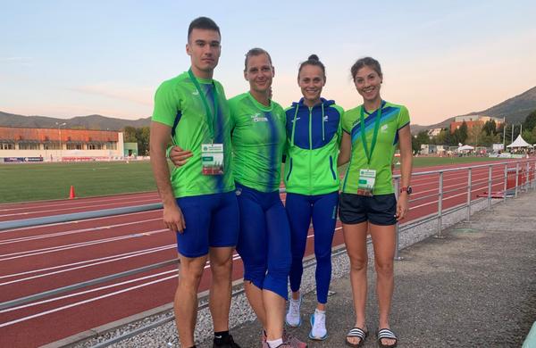 Naši atleti z balkanskega atletskega prvenstva s tremi medaljami
