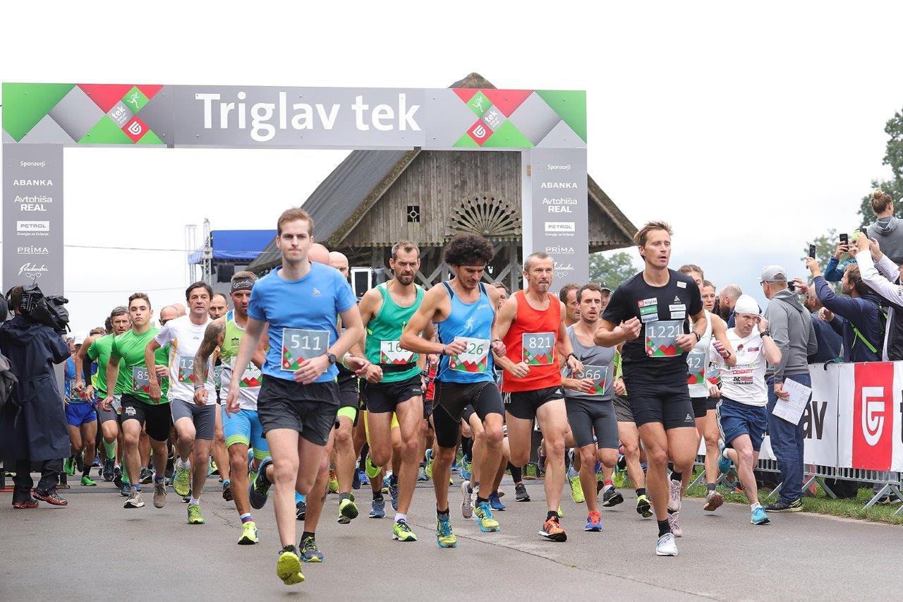 Okoli 2.000 obiskovalcev podprlo dober namen 8. Triglav teka