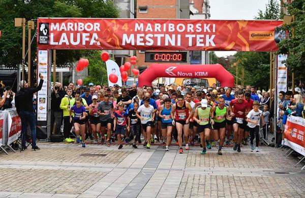 Maribor preplavili tekači