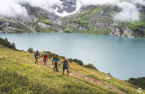 Tudi Slovenci premagali 360 kilometrov po švicarskih gorah