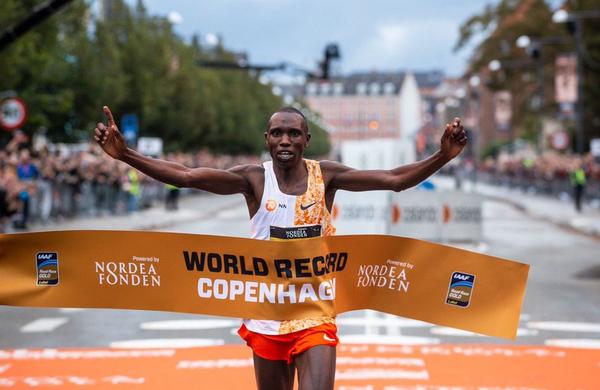 Padel je nov rekord v polmaratonu!