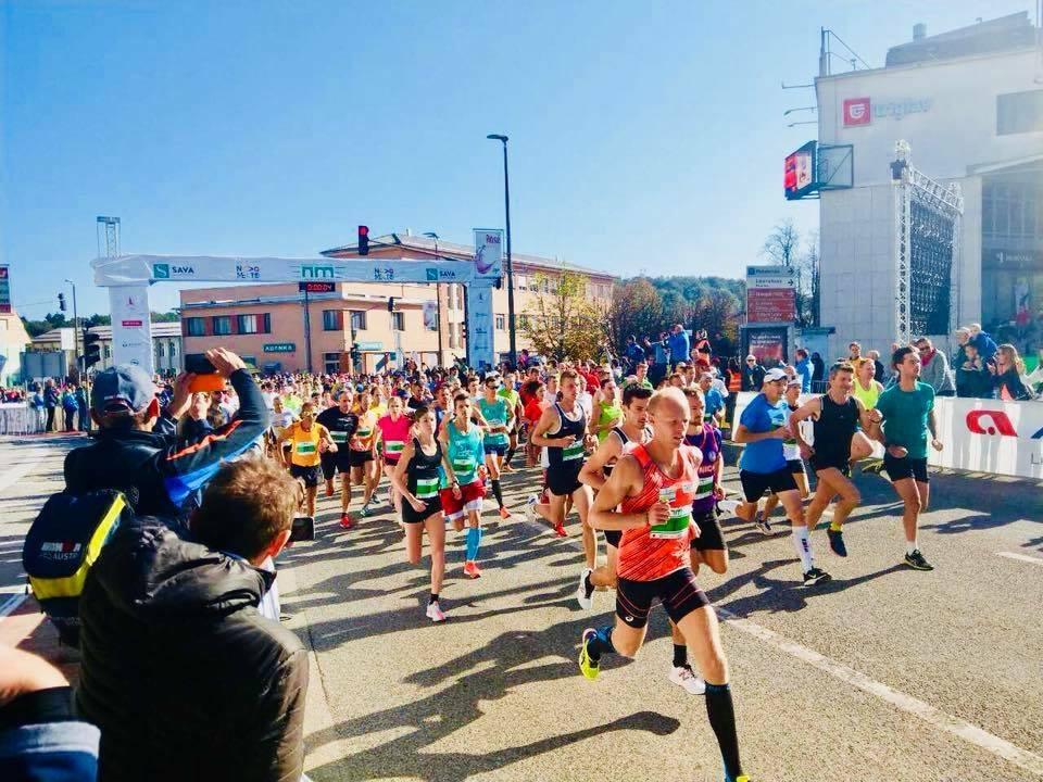 Katerih tekaških prireditev se lahko udeležimo v oktobru?