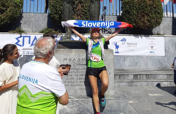 Nataša je 246 km pretekla v 29-ih urah in osvojila medaljo!