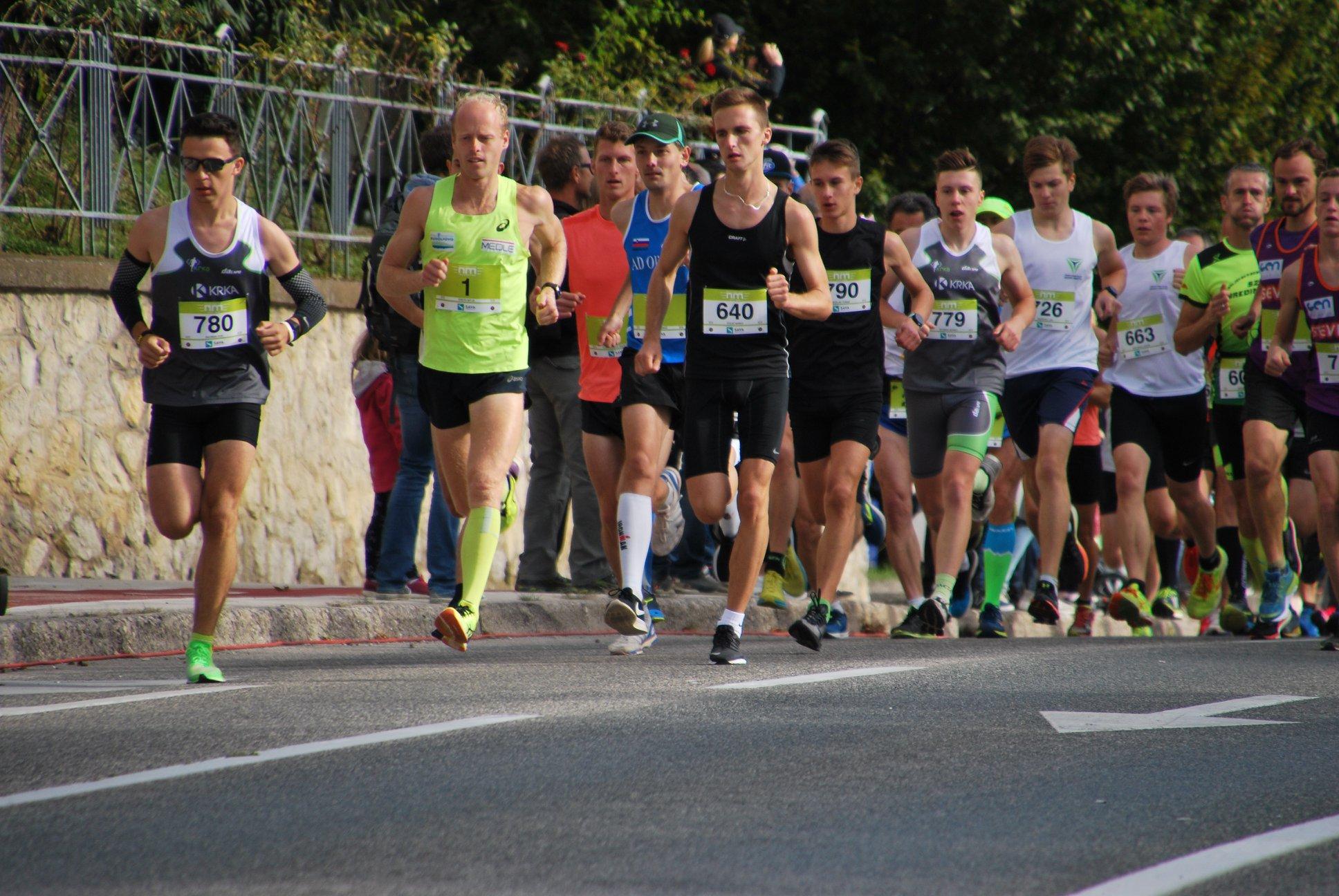 Krevs na Novomeškem pol maratonu ubranil lansko zmago, med ženskami najhitrejša madžarska olimpijka Tunde Szabo