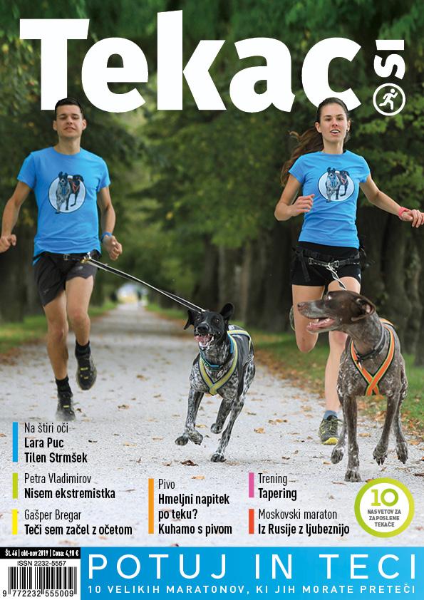 45 maratonov - revija Tekac.si 46 okt-nov