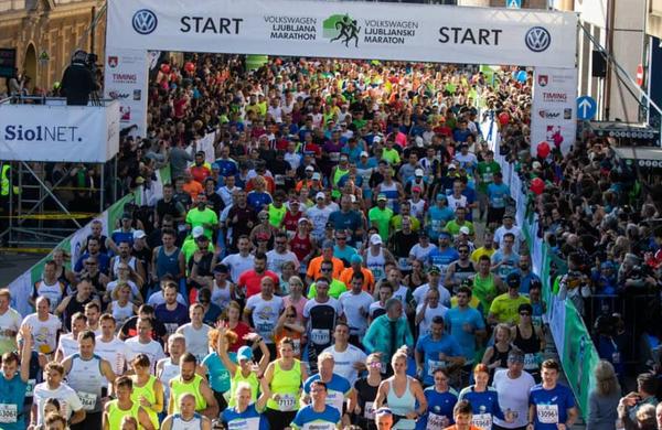Ljubljanske ulice preplavili tekači, doseženi trije rekordi