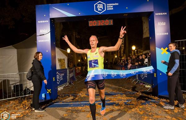 Mitja Krevs zmagal v Zagrebu