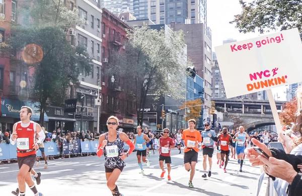 New York City Marathon z več kot 50.000 tekači