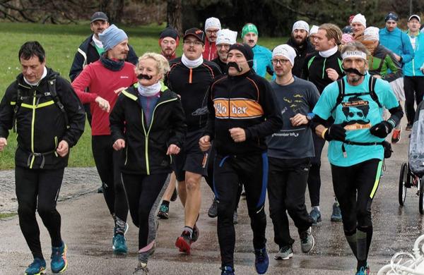 Brkati tekači preplavili Ljubljano