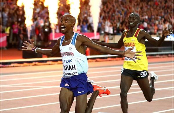 Mo Farah napovedal povratek, Eliud Kipchoge pa nastop na londonskem maratonu