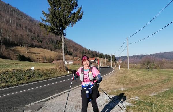 Nekateri tekači so novo leto začeli z Novoletnim SLOtrailom 2020