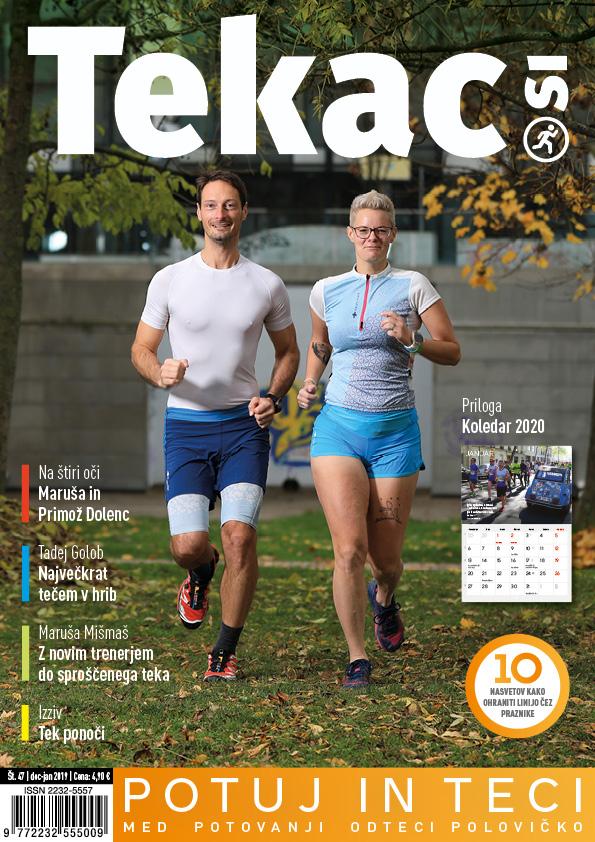 Družabna izgorelost - revija Tekac.si 47 dec-jan