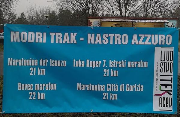 Pokal Modri trak: boj slovenskih in italijanskih tekačev