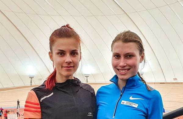 Maruša in Klara z novimi osebnimi rekordi