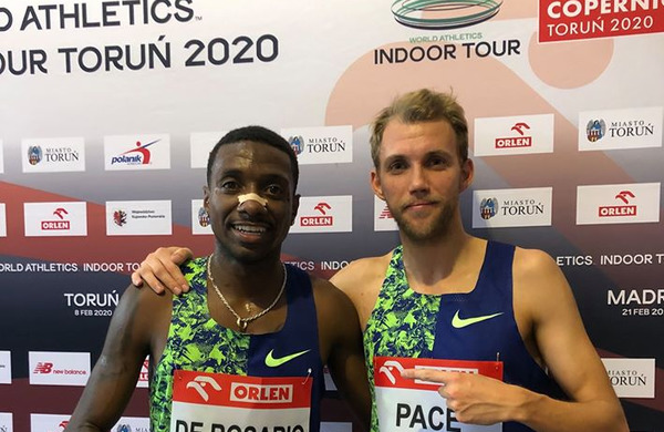 Žan Rudolf kot narekovalec tempa pripomogel k južnoameriškemu rekordu na 1500 m