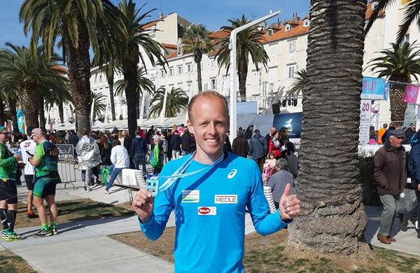 Mitja Krevs tretji na polmaratonu v Splitu