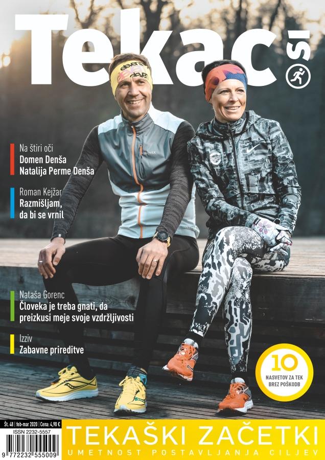 Trenutna pripravljenost - revija Tekac.si 48