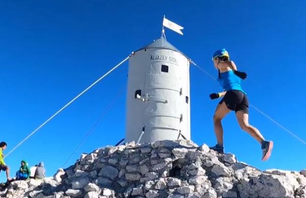 Ana rekordno na Triglav: 2 uri in 52 minut rekordnega vzpona in spusta