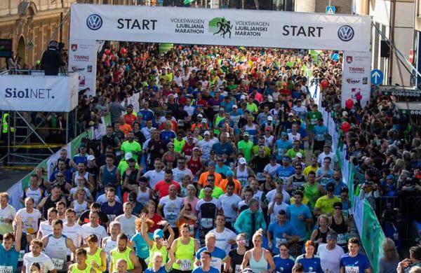 Volkswagen 25. Ljubljanski maraton prestavljen na 2021