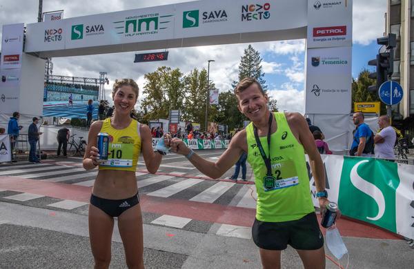 Na Novomeškem polmaratonu zmagal glavni organizator - in to z rekordom proge