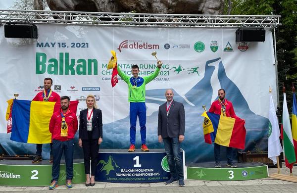 Naši odlični na Balkanskem prvenstvu v gorskih tekih