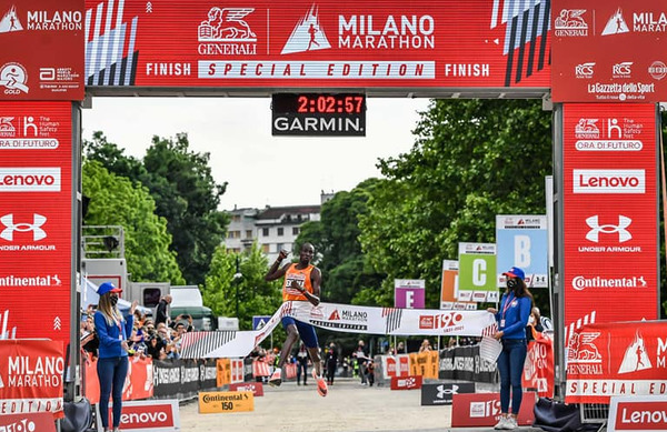 Milanski maraton: Kobe zaradi zvina gležnja odstopil, Kršinarjeva na 21. mestu