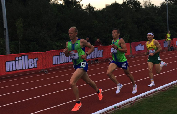 Neja Kršinar, Mitja Krevs in Primož Kobe zastopali Slovenijo na Evropskem pokalu na 10.000 m