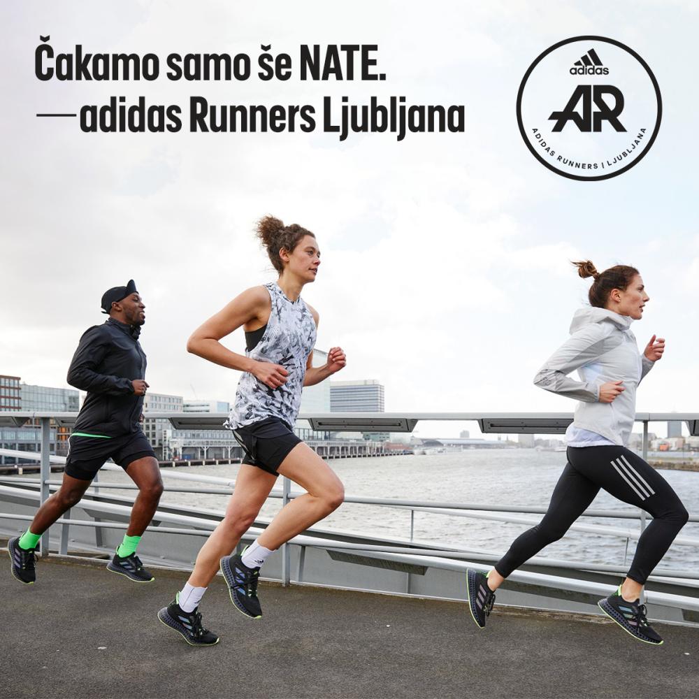 Postani crew member skupnosti adidas Runners